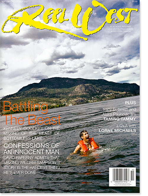 Reel West Magazine Cover - Beast of Bottomless Lake