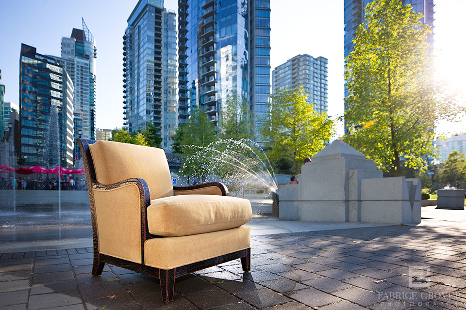 furniture photography by vancouver