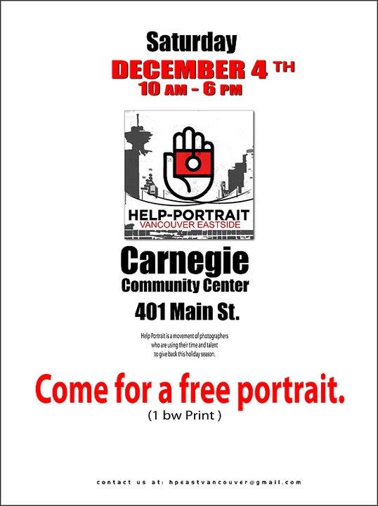 Help Portrait East Vancouver