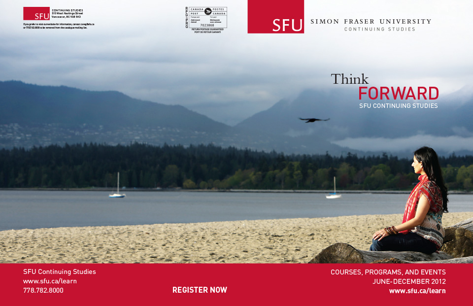 SFU Continuing Education Catalog Cover